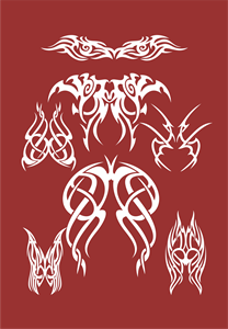 Tribal Logo Vector