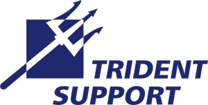 Trident Support Logo Vector