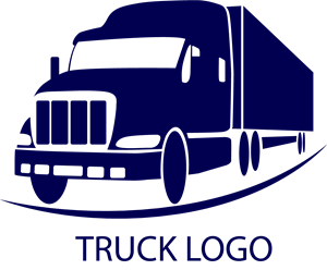 truck logo vector eps free download