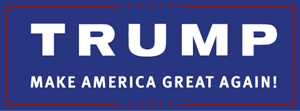 Trump Make America Great Again Logo Vector