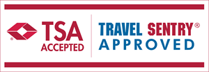 TSA Accepted Travel Sentry Approved Logo Vector