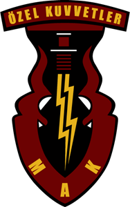Türkish Special Forces Logo Vector