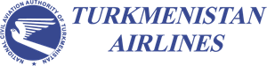 Turkmenistan airlines Logo Vector