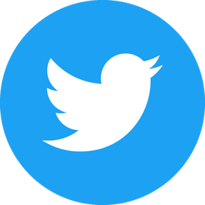 Twitter Icon Circle (Blue) Logo Vector