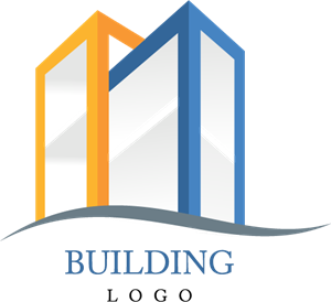 Two Building Construction Logo Vector