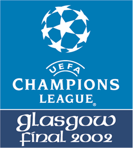 UEFA Champions League - Glasgow Final 2002 Logo Vector