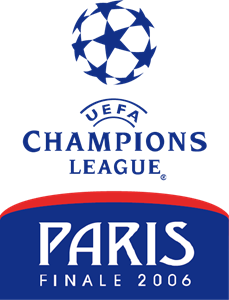UEFA Champions League - Paris Final 2006 Logo Vector