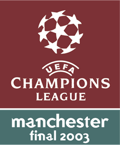 UEFA Champions League Manchester Final 2003 Logo Vector
