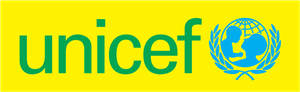 UNICEF cyan yellow Logo Vector