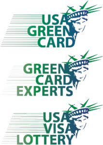 USA Green Card Green Card Experts USA Visa Lottery Logo Vector