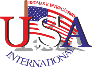 USA International Escola de Idiomas Logo Vector