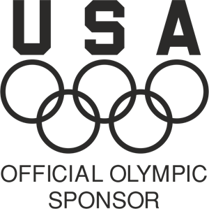 USA Official Olympic Sponsor Logo Vector