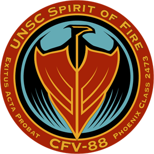 USNC Spirit of Fire Logo Vector