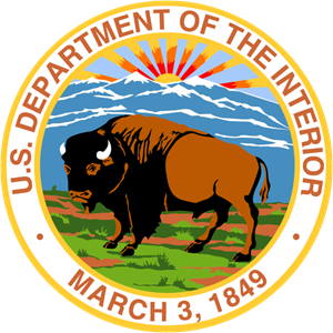 U.S. Department of the Interior Logo Vector