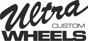 Ultra Custom Wheels Logo Vector