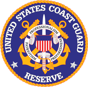 United States Coast Guard Reserve Logo Vector