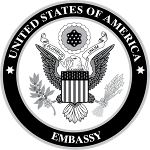 United States of America Embassy Logo Vector