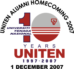 Uniten 10 years Logo Vector