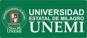 Universidad Estatal de Milagro UNEMI Logo Vector