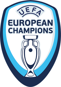 UEFA European Champions Badge Logo Vector