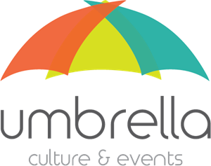 Umbrella Culture Logo Vector
