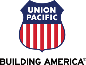 Union Pacific Building America Logo Vector