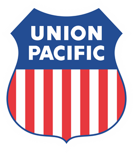 Union Pacific Railroad Logo Vector