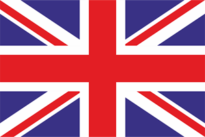 United Kingdom flag Logo Vector