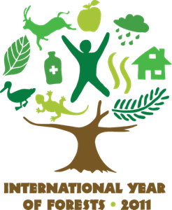 United Nations International Year Of Forests 2011 Logo Vector