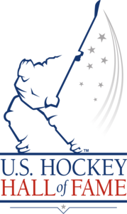 United States Hockey Hall of Fame Logo Vector