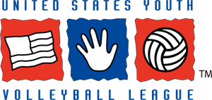 United States Youth Volleyball League Logo Vector