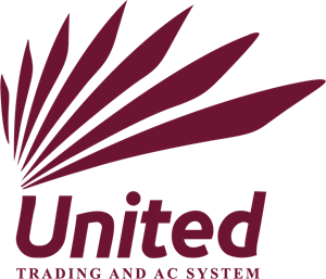 United Trading And AC system Logo Vector