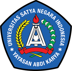 Universitas Satya Negara Indonesia Logo Vector