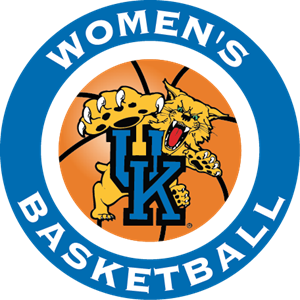 University of Kentucky Wildcats Women's Basketball Logo Vector