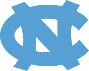 University of North Carolina Tarheels NC Logo Vector