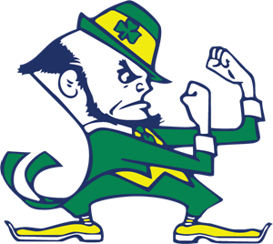 University of Notre Dame Fighting Irish Logo Vector