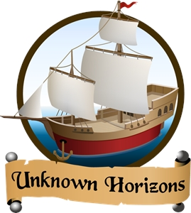 Unknown Horizons Logo Vector