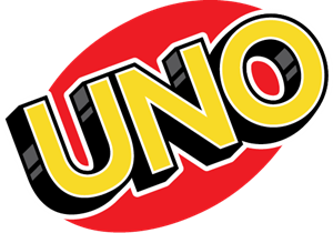 Uno Card Logo Vector