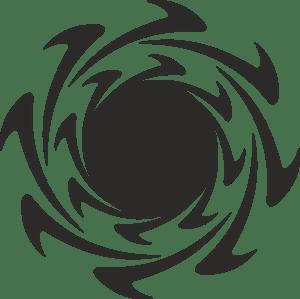 urban decay logo vector. urban desing logo decay vector