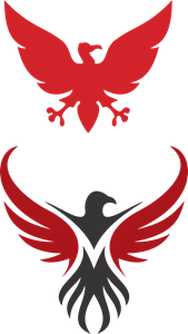 Urubu do Flamengo Logo Vector