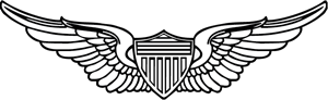 US Army Pilot Logo Vector