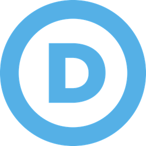 US Democratic Part Logo Vector