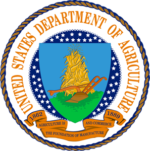 US Department of Agriculture Seal Logo Vector