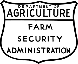 US Farm Security Administration Logo Vector