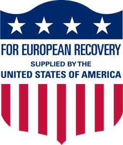US Marshall Plan Aid Logo Vector