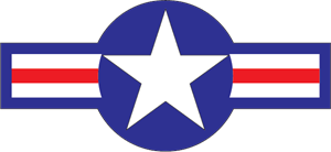 US Military Roundel Logo Vector
