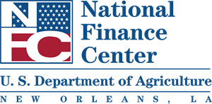 US National Finance Center Logo Vector