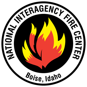US National Interagency Fire Center Logo Vector