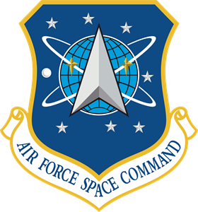 USAF Space Command Logo Vector