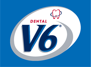 V6 Dental Logo Vector